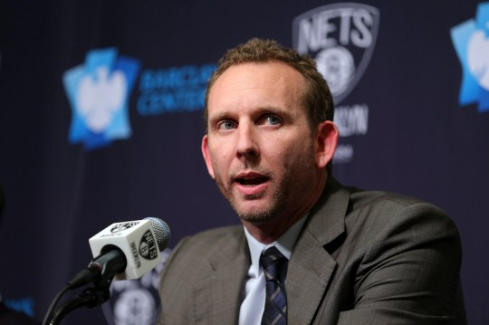 Nets new general manager Sean Marks was fined $25,000 and suspended for one game for entering the referee locker room after Brooklyn's Game 4 loss.
