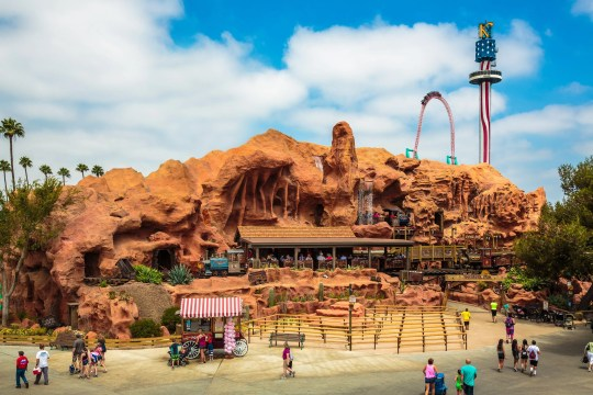 The Calico Mine Ride is an extensive dark ride at Knott's Berry Farm.
