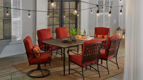 Save up to 30% on outdoor furniture at Home Depot.