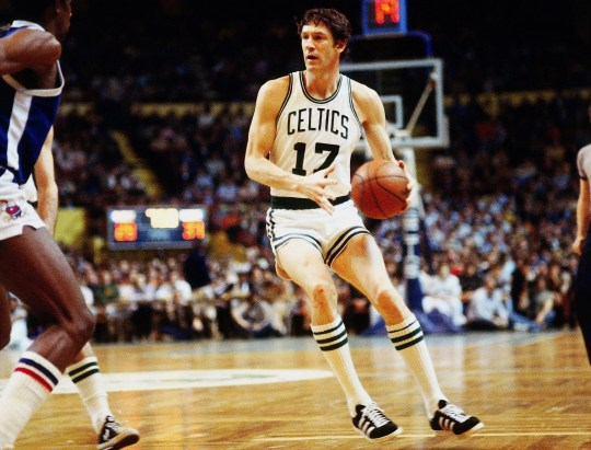 John Havlicek was an eight-time champion and 13-time All-Star with the Celtics.