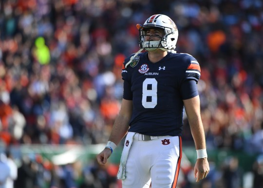 QB Jarrett Stidham played two season at Auburn before being drafted by the Patriots.