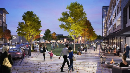 Future development was carried out at Westfield Garden State Plaza