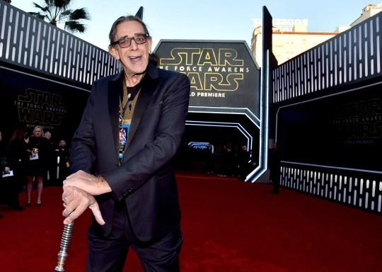 El actor Peter Mayhew, mejor conocido por interpretar a Chewbacca en el