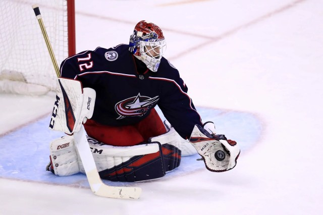 8. G Sergei Bobrovsky, Columbus Blue Jackets, $6.2 million. New team: Florida Panthers, seven years, $70 million