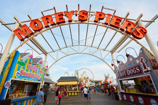 Morey's Piers celebrates 50 years on the Wildwood Boardwalk by opening the Runaway Tram ride, a nod to the Wildwoods' iconic Sightseer tram car.