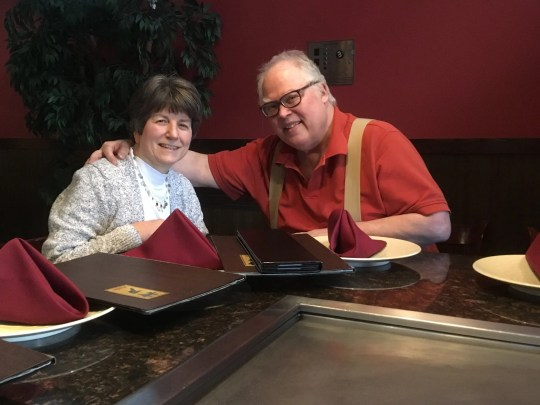 Jim and Kathee Peet from Plymouth, Minn., Can seriously consider selling his 3,300-square-foot house but not doing it 80.