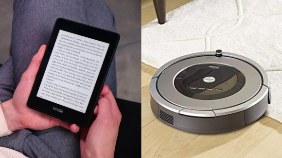 Get some huge savings on all your favorite electronics, like a new Kindle or robot vacuum.