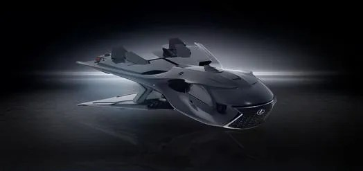 Lexus spacecraft.