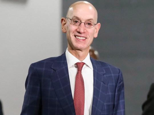 NBA commissioner Adam Silver.