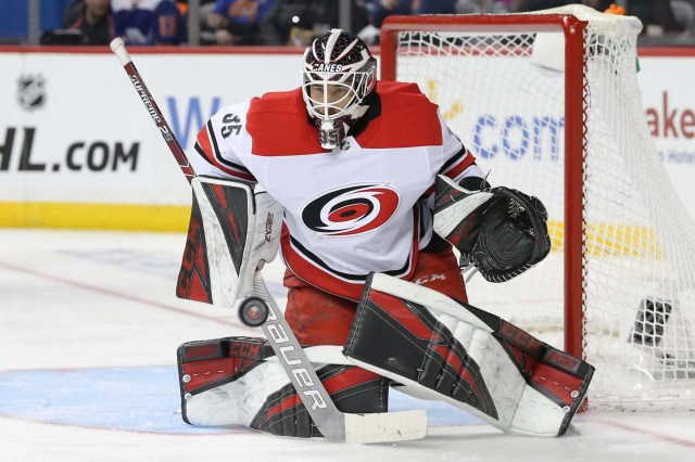 22. G Curtis McElhinney, Carolina Hurricanes, $850,000. New team: Tampa Bay Lightning, two years, $2.6 million