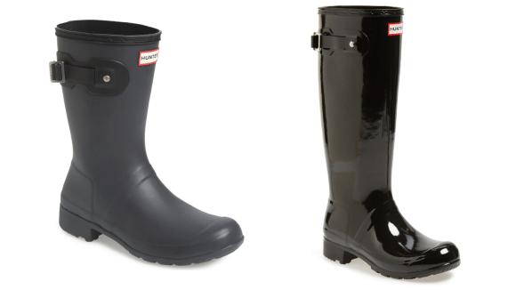 Lluvia, lluvia, vete ... a menos que tengas estas botas elegantes.