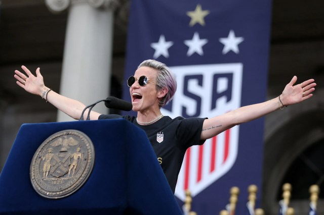 36f75af3-fc28-4061-9fe9-be918f4e1faf-USATSI_13025198 Megan Rapinoe may not run for office but she will 'fight for equal pay every day'