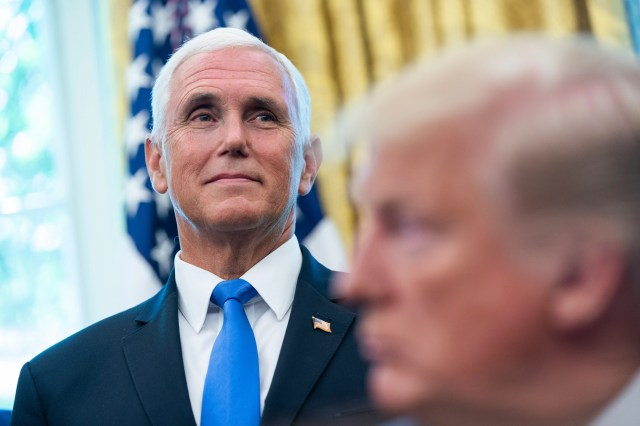 08691cf1-f548-48f5-ba80-0d0126c559a4-EPA_USA_TRUMP_ASTRONAUT Mike Pence says Trump 'might make an effort to speak out' if 'send her back' chant happens again