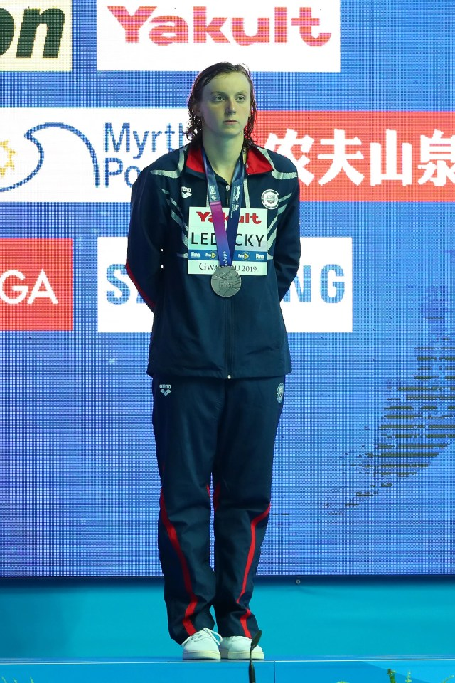 a38d43aa-d427-4f5c-b713-a6f68c5a2f00-ledecky_GTY_1163336444 Katie Ledecky upset in 400 meters at World Swimming Championships