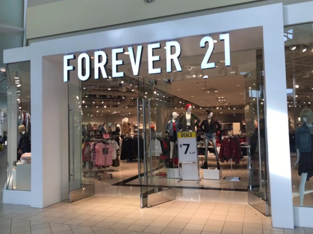 Forever 21 files for Chapter 11 bankruptcy protection, may close up to 178 US stores