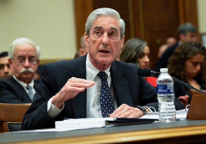 Former Special Counsel Robert S. Mueller, III testifies to House Judiciary Committee on 'Oversight of the Report on the Investigation into Russian Interference in the 2016 Presidential Election.' Mueller - who investigated alleged Russian interference during the 2016 primary election - said in May that his report 'speaks for itself.'