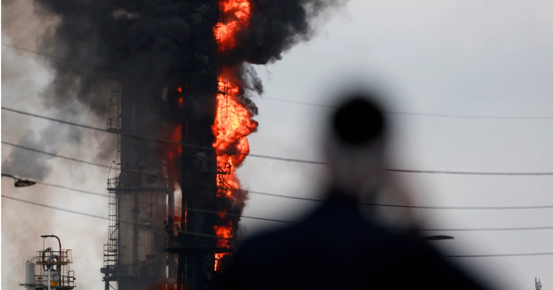 Explosion, fire injures 37 at Exxon Mobil refinery in Texas