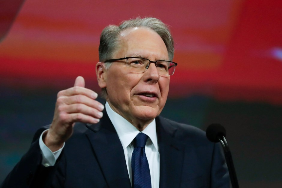 A New York lawsuit targets NRA leader Wayne LaPierre.