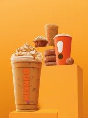 Dunkin 'ha anunciado que su menú de otoño, que incluye bebidas de especias de calabaza, regresará el 21 de agosto.