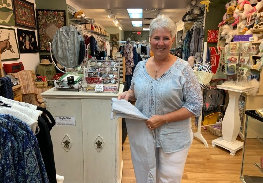 Sonya Staffan is owner of Oh Suzanna in Lebanon, Ohio.