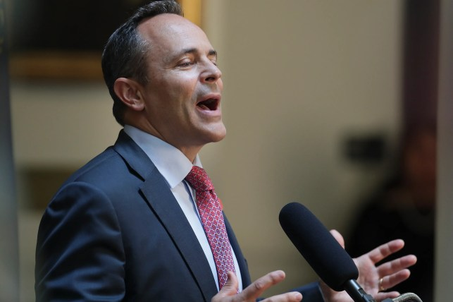Kentucky governor asks students to participate in 'Bring Your Bible to School Day'