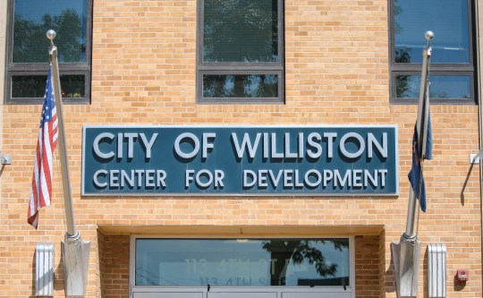 The Ulster City Development Center building is visible in Williston, North Dakota on Thursday, 15th August, 2019.
