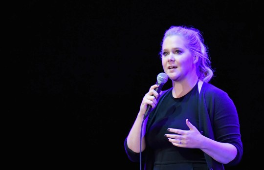 Amy Schumer is opening up about going back to work after giving birth to her son, Gene.