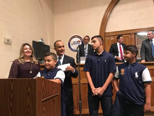 Mustafa Rabboh, Bergen County's First Muslim Police Chief, is Sworn in