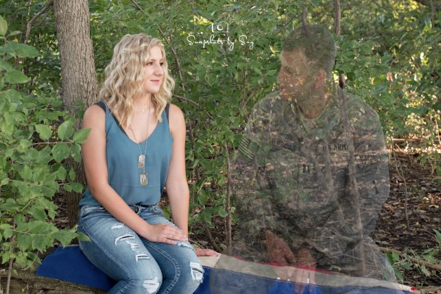 'He truly was there': Nebraska photographer helps teen honor fallen Army father in senior photos