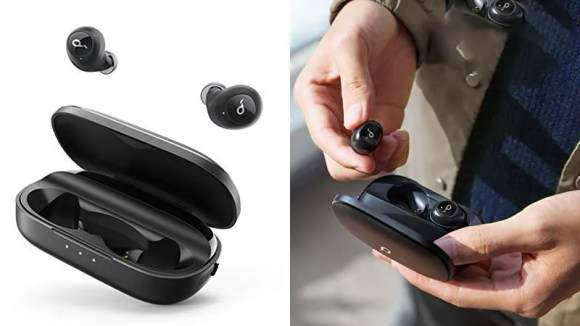 These earbuds are great on-the-go and at the gym.