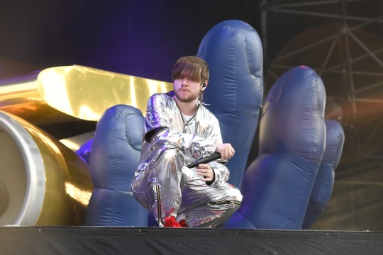 Ciaran McDonald of Brockhampton performs at the 2019 Governors Ball Festival at Randall's Island on May 31, 2019 in New York City.