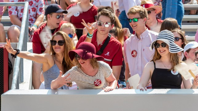Alabama tracking students at stadium, penalizing them if they leave football game early