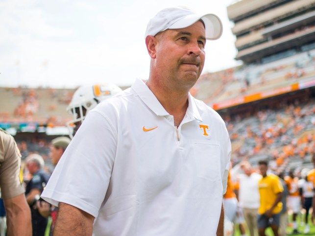 Tennessee's Jeremy Pruitt 'absolutely not' seeking preferential treatment from police