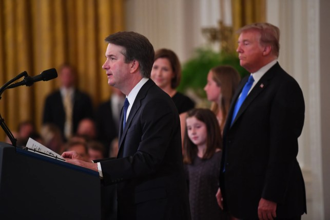 Trump says Kavanaugh is the one 'actually being assaulted' after new allegation of sexual assault