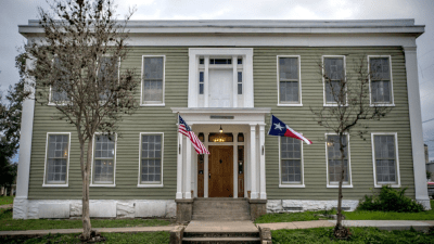 """The Magnolia Hotel, which was built in the 1840s in Seguin, is considered to be the """"most haunted hotel in Texas."""""""