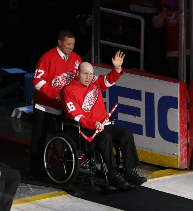 Red Wings legend Vladimir Konstantinov survived horrific limo crash, but injury forever changed him