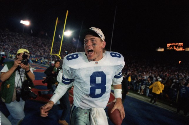 Troy Aikman forgot that Rams receiver Cooper Kupp's dad, Craig, was his backup with Cowboys