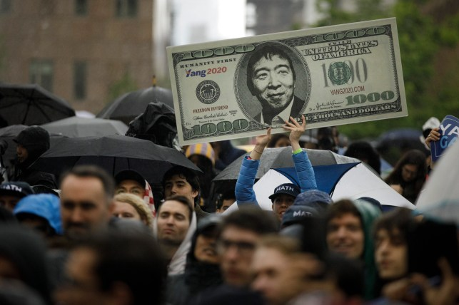 2020 candidate Andrew Yang's 'freedom dividend' plan comes with big liabilities