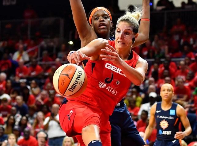Top images from the 2019 WNBA Finals: Washington Mystics vs. Connecticut Sun