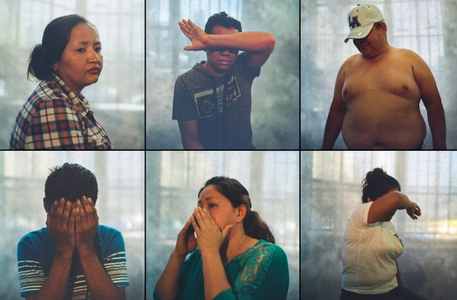 I spent a day in LA immigration court, these powerful portraits tell the story
