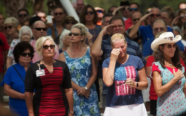 More than 1,000 strangers unite at funeral for veteran with no known family