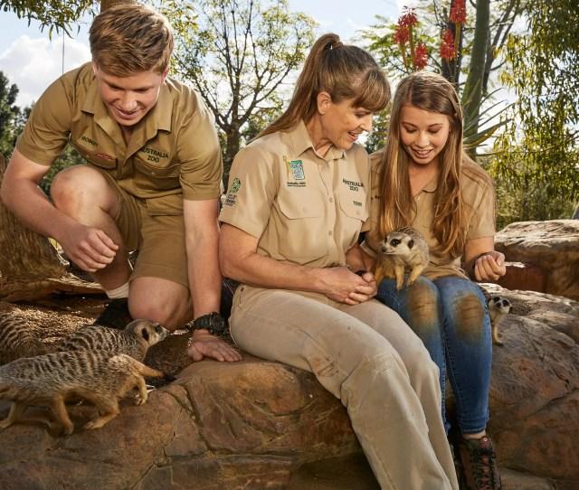 Steve Irwin Day Bindi Irwin Family Set To Honor Late Dad At Zoo