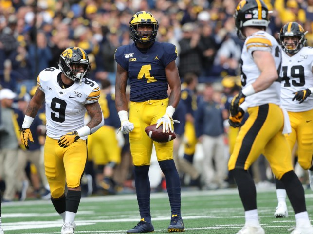 It's ugly, but No. 18 Michigan gets needed defeat of No. 14 Iowa
