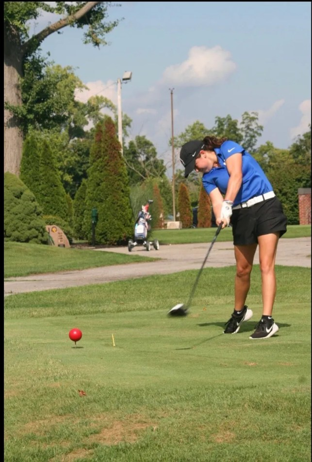 She dreamed of podium finish at golf finals — and she got it. But then self-reported a DQ