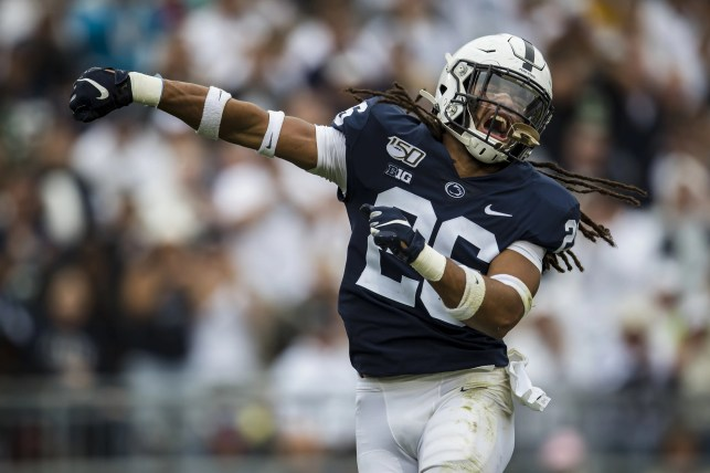 Penn State coach James Franklin passionately defends safety Jonathan Sutherland