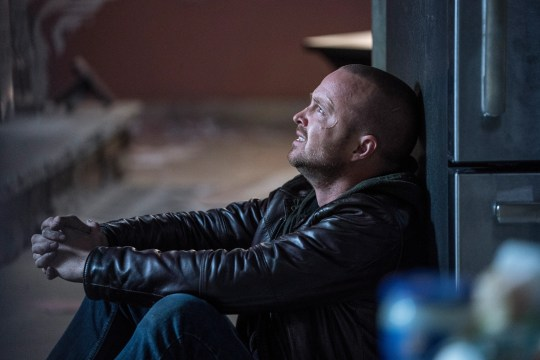 """Jesse Pinkman (Aaron Paul) is on the run and seeking redemption in """"El Camino: A Breaking Bad Movie,"""" a movie sequel to the hit AMC drama."""