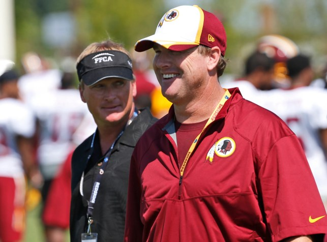 Raiders coach Jon Gruden on brother Jay's firing from Redskins: 'Welcome to the club, bro'