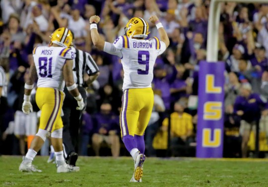 Image result for joe burrow