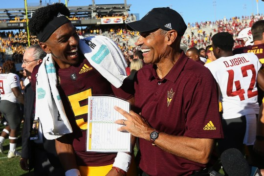 The Arizona State football team shows up in many, but not all, preseason college football Top 25 polls.