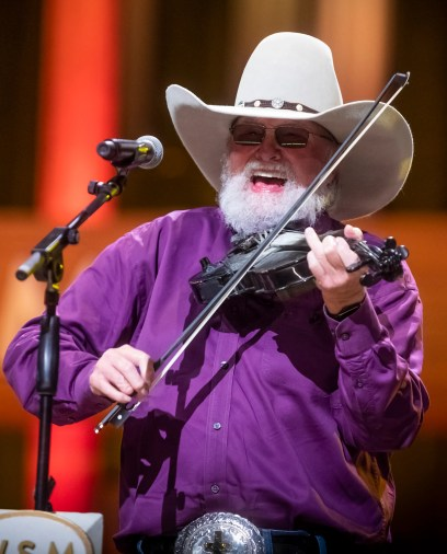 Charlie Daniels performs at the Grand Ole Opry House Tuesday, October 15, 2019. Daniels died Monday at age 83, his publicist confirmed.